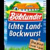 Böklunder Echte Land-Bockwurst