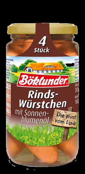 Böklunder Rinds-Würstchen