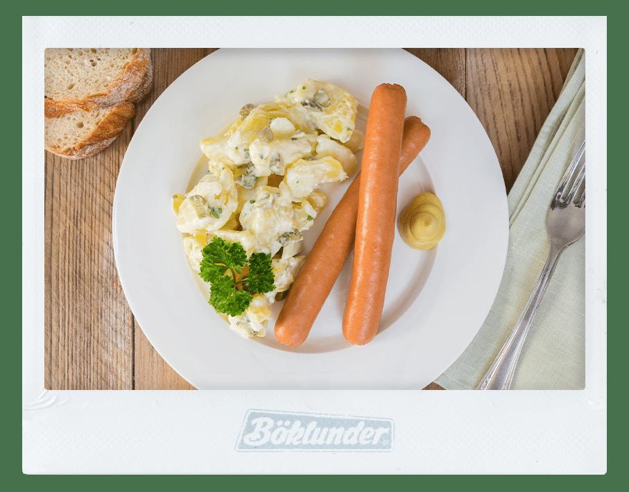 Kartoffelsalat mit Wiener