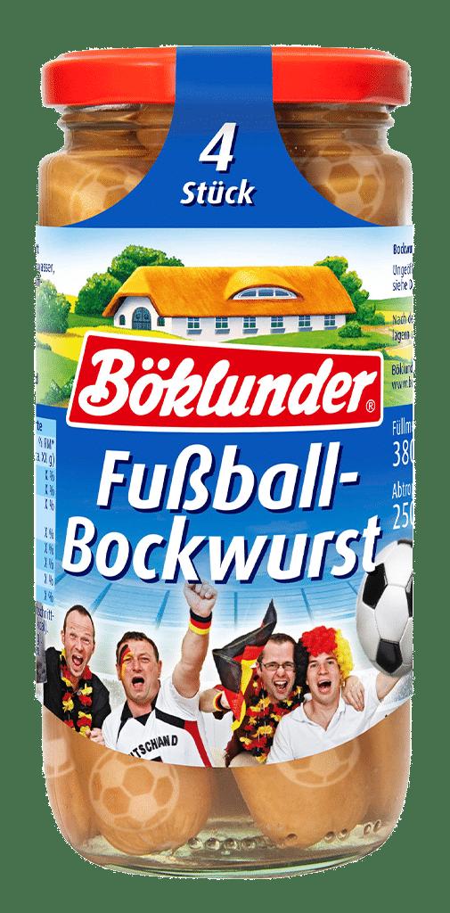 Böklunder Fußball-Bockwurst