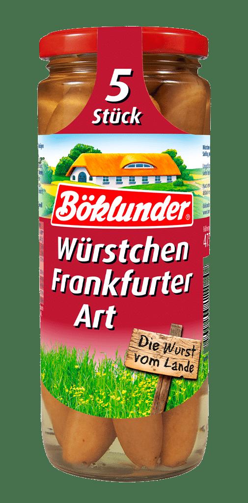 Böklunder Würstchen Frankfurter Art