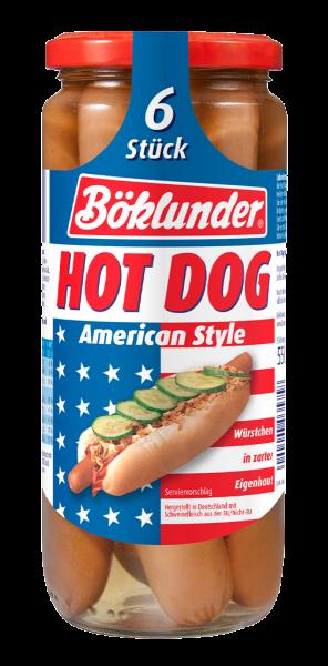 Böklunder Hot Dog American Style