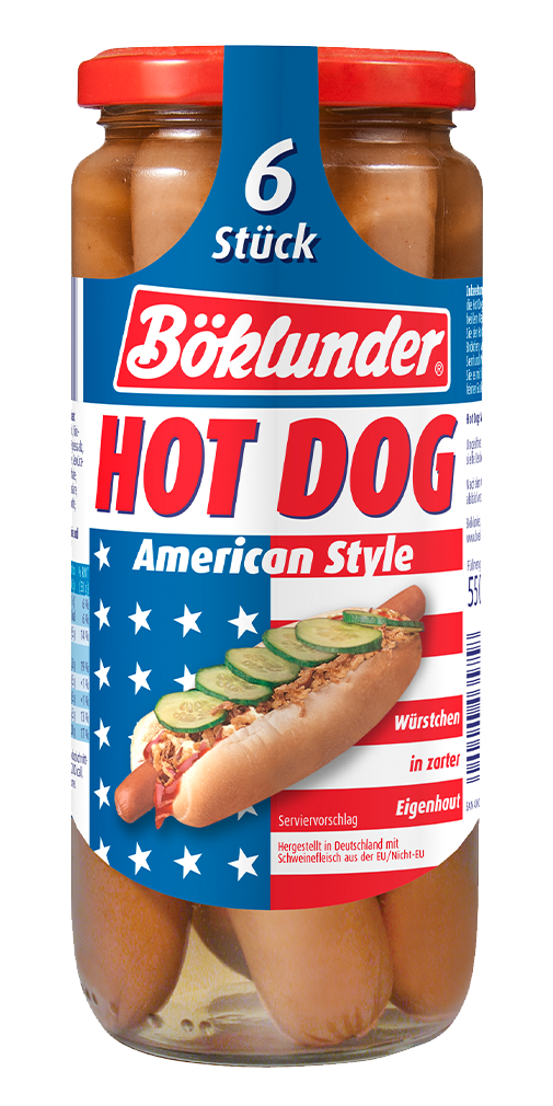Böklunder Hot Dog American Style
