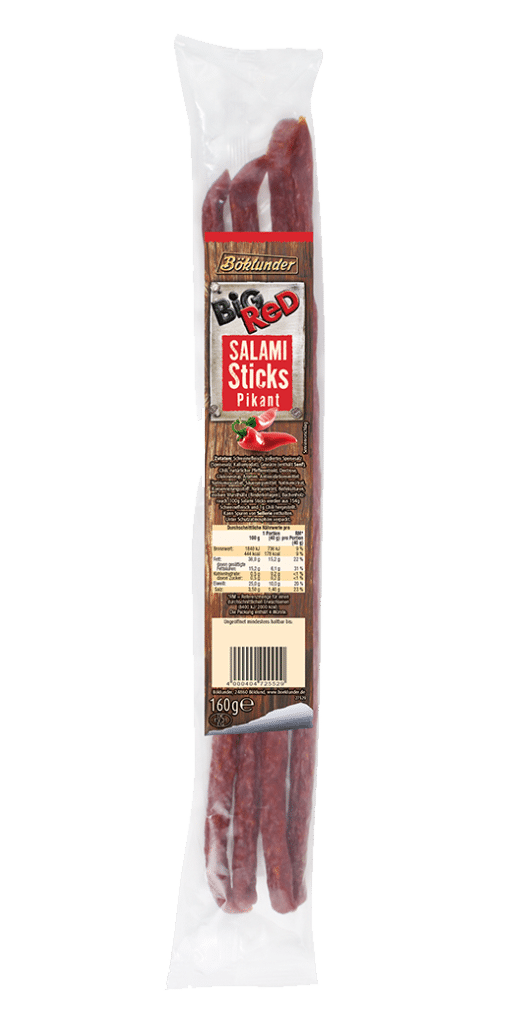 Big Red Salami Sticks pikant