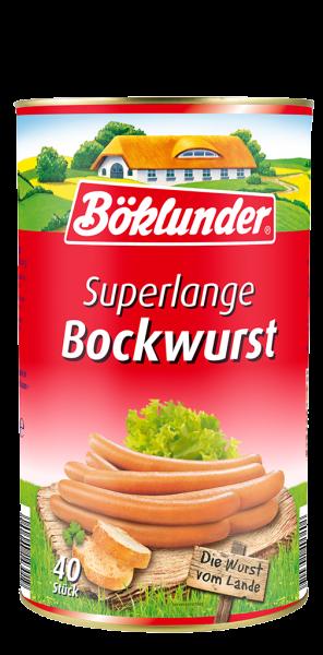 Böklunder Superlange Bockwurst