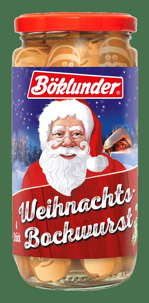Böklunder Weihnachts-Bockwurst